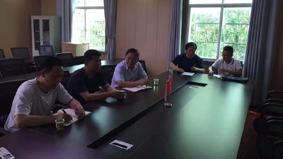 浠水县应急管理局开展乡村振兴驻村工作对接