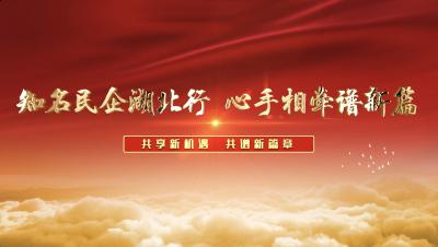 """直播 第二届""""全国知名民企湖北行""""8日在汉开幕"""