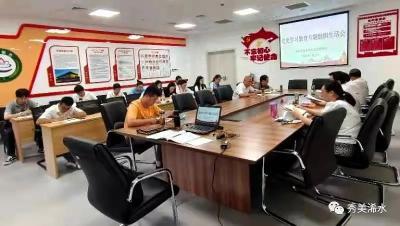 浠水县政务服务和大数据管理局召开党史学习教育专题组织生活会