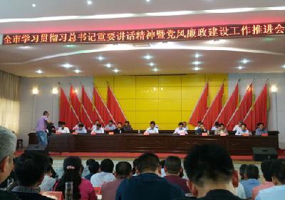陈东灵:巩固提升风清气正崇廉尚实的良好政治生态