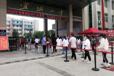 宜城3039名考生参加高考