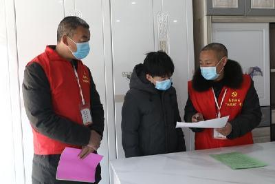 宜城南营办事处:党建引领抓防控 凝心聚力抗疫情