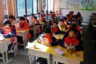 宜城实验小学:阅读点亮人生 书香溢满校园