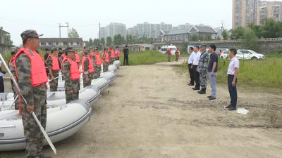 老河口市水上救援执法有了新装备