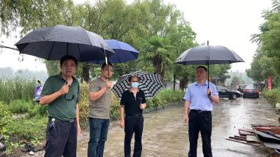 【汉江大保护 我们在行动】省农业厅领导来我市调研禁捕退捕工作