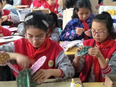 """市实验小学开展""""三个一""""教育展示活动"""