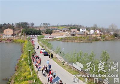 老河口市下四河淤村:红色文化带动旅游发展