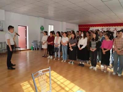 [奋斗百年路 启航新征程]酂阳街道组织开展庆祝建党100周年大合唱排练活动