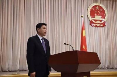 国家税务总局举行首次宪法宣誓仪式