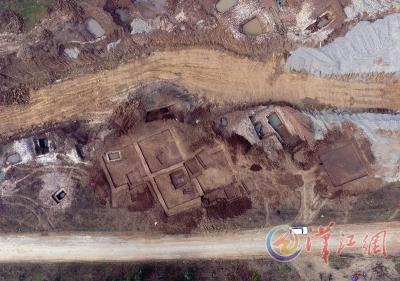 我市抢救性发掘69座秦汉古墓