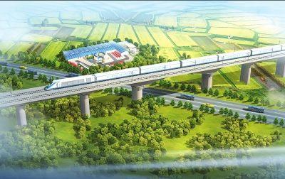 营造最优环境服务郑万高铁建设