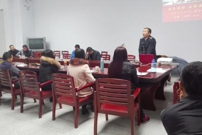 襄阳市烈士陵园开展消防安全知识讲座