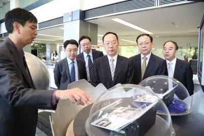 李乐成率团赴日拜访汽车产业相关企业