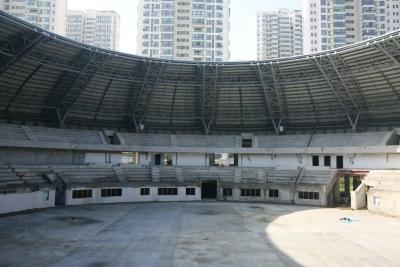 襄阳市全民健身中心二期工程预计今年年底完工建成后低收费对外开放