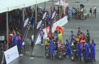 2017巴哈大赛襄阳站开幕  赛车手们期待惊险雨中战