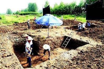 襄阳发现唐汉时期墓葬群 掘出大批精美文物