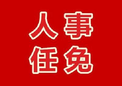 有关黄斌等同志的职务任免