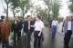 市领导实地检查月亮湾公园水情及封园安全管理工作