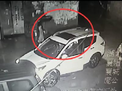 深夜,无牌车襄阳小区撞车后逃逸…被送女子竟…