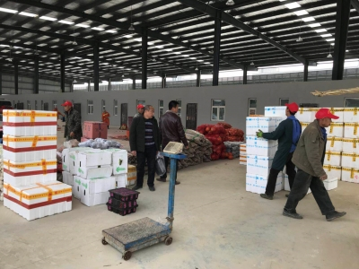洪沟农产品交易中心正式转迁至竹叶山交易中心    11月26号试运营
