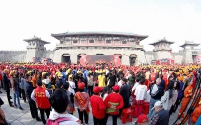 """襄阳市举行""""消防之美 舞动奇迹""""消防广场舞大赛"""