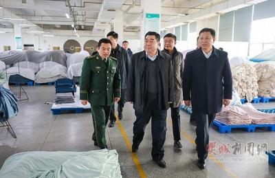 李德璋来樊城检查安全生产工作