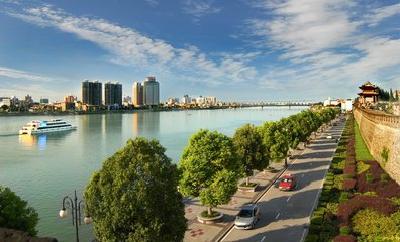 """襄阳开展""""一江两河六岸""""城市设计 打造优美城市天际线"""
