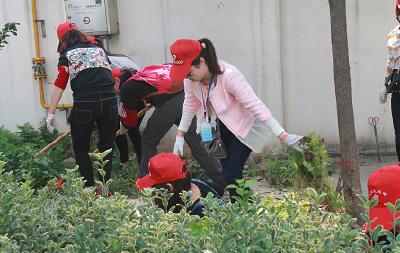 """七里桥志愿小分队:让""""牛皮癣""""不再牛!"""
