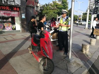 交通整治常态化 交警会有大动作