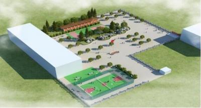 市中心城区最大社区多功能运动场项目在幸福社区启动