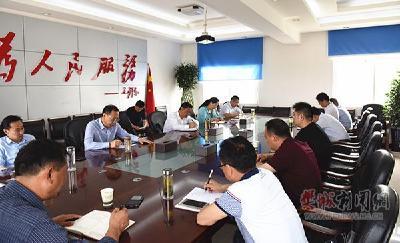 樊西新区重点项目建设全力推进