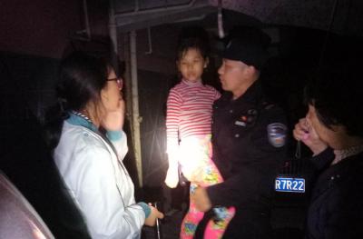 """襄阳8岁女孩离家出走,还跟民警玩起了""""躲猫猫""""?"""