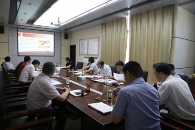 学校党委中心组召开六月份专题理论学习会