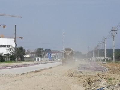 樊城两处建筑工地扬尘严重被通报
