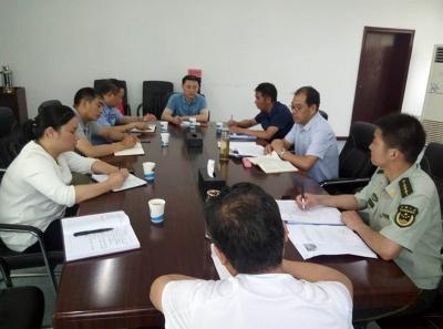 鱼梁洲管委会组织召开电动车消防安全综合治理工作部署会
