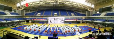 2018年湖北省青少年空手道锦标赛暨省十五运会资格赛在襄阳开赛