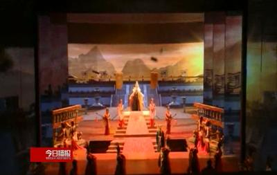 【V视】汉城演《汉颂》 恢弘越千年