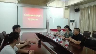 樊城区科技局深入企业宣讲科技创新扶持政策