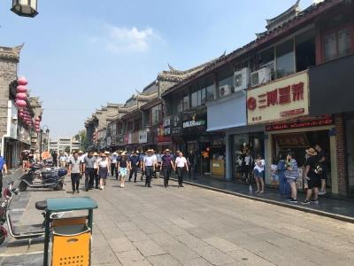 襄阳市首次城市管理工作拉练结束