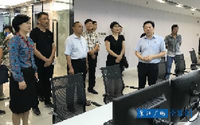 平顶山市考察团到襄阳广电参观学习