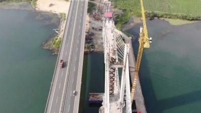 襄阳汉江新增一座特大桥!将于9月底合龙!
