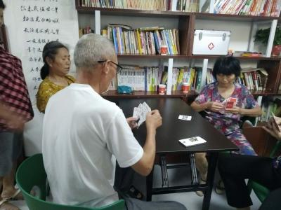 荆州街社区纳凉点:为居民提供了避暑的好去处