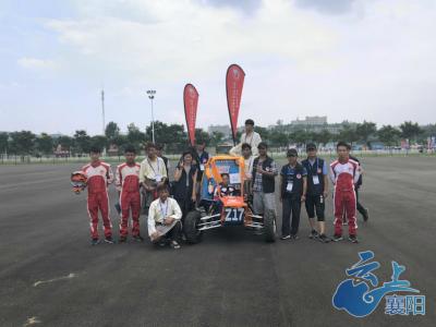 泰国老师+藏族学生 这支车队闪耀巴哈大赛!
