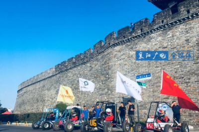 2018中国大学生巴哈赛车城市巡游启动