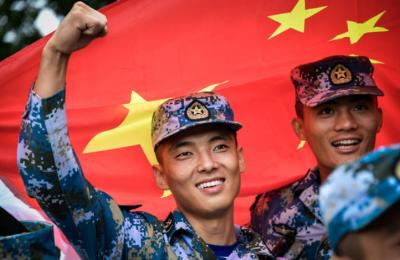 """""""国际军事比赛-2018""""闭幕 中国军队获4个团体第一"""