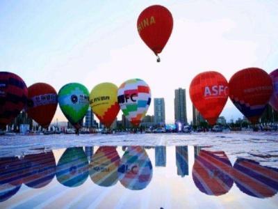 观赛热气球 襄阳市民报名参与多