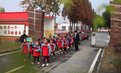 樊城:养成教育促发展 小手牵起文明范儿