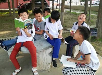 """朱坡中心小学:""""孔子诞辰日""""让书香流动起来"""