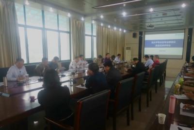 襄职召开高水平专业及专业群建设遴选答辩评审会