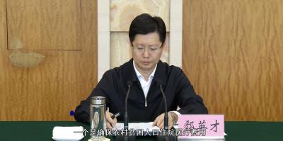 "【V视】南漳、保康、谷城今年要脱贫""摘帽"""